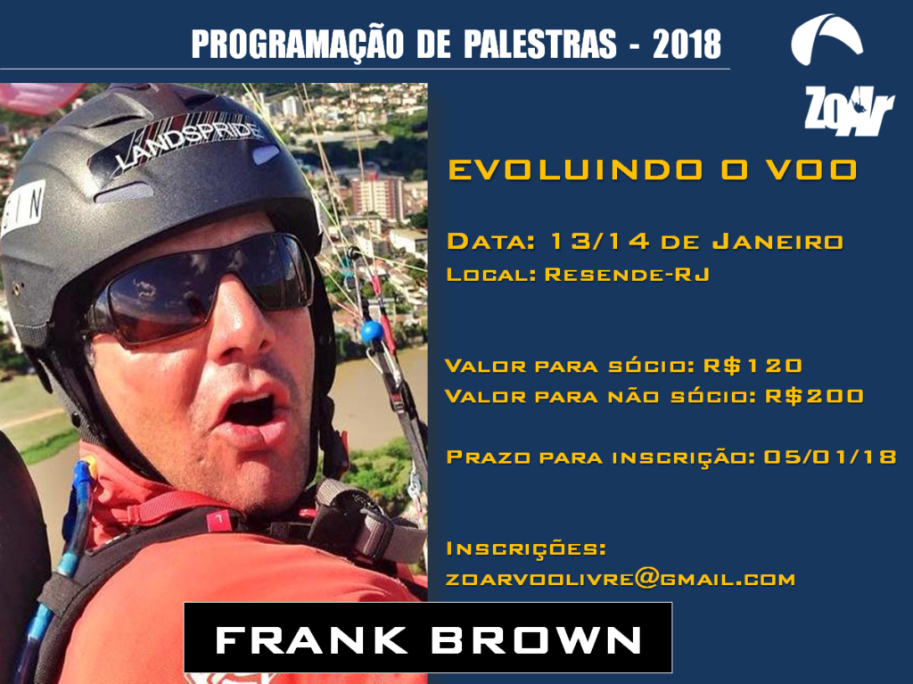 EVOLUINDO O VOO COM FRANK BROWN